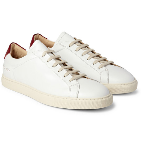 8854df3e466a6 Common Projects are the brand that all the cool kids are wearing but not  telling you about. These retro tennis shoes are a great example of this.